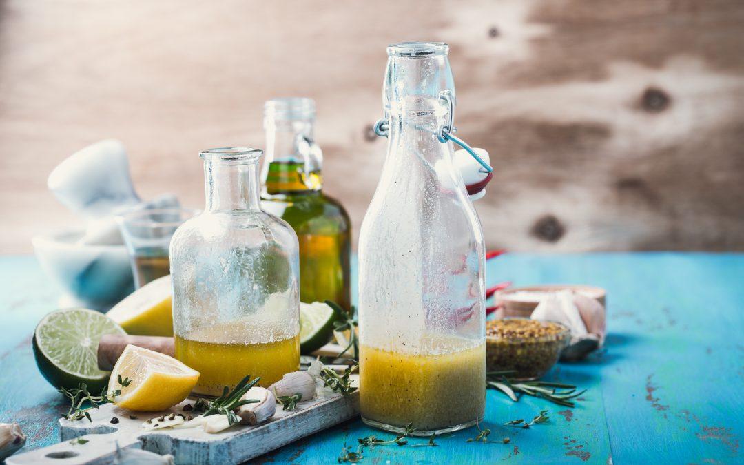 Organic Olive Oil and Meyer Lemon Vinaigrette