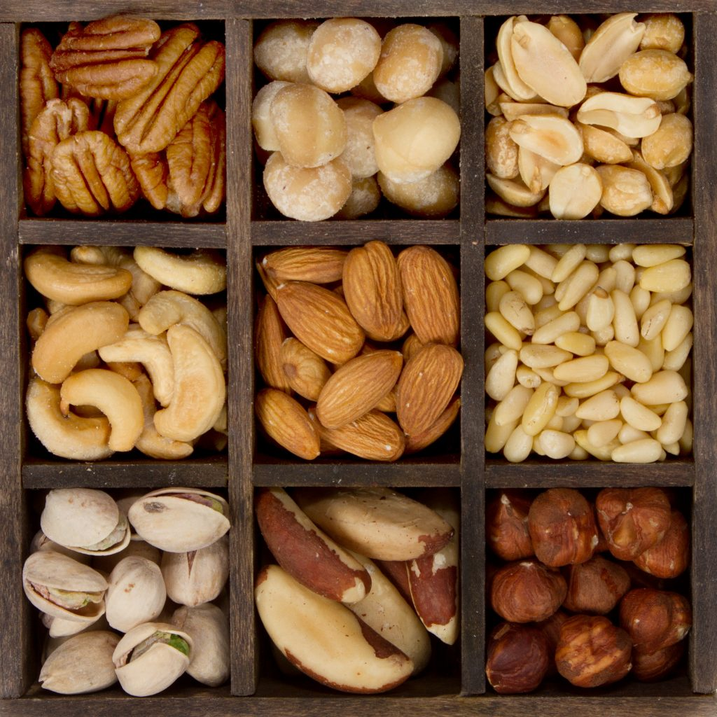 10 Types of Nuts that make healthy snacks