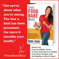 THE FOOD BABE WAY  *SPONSORED POST*