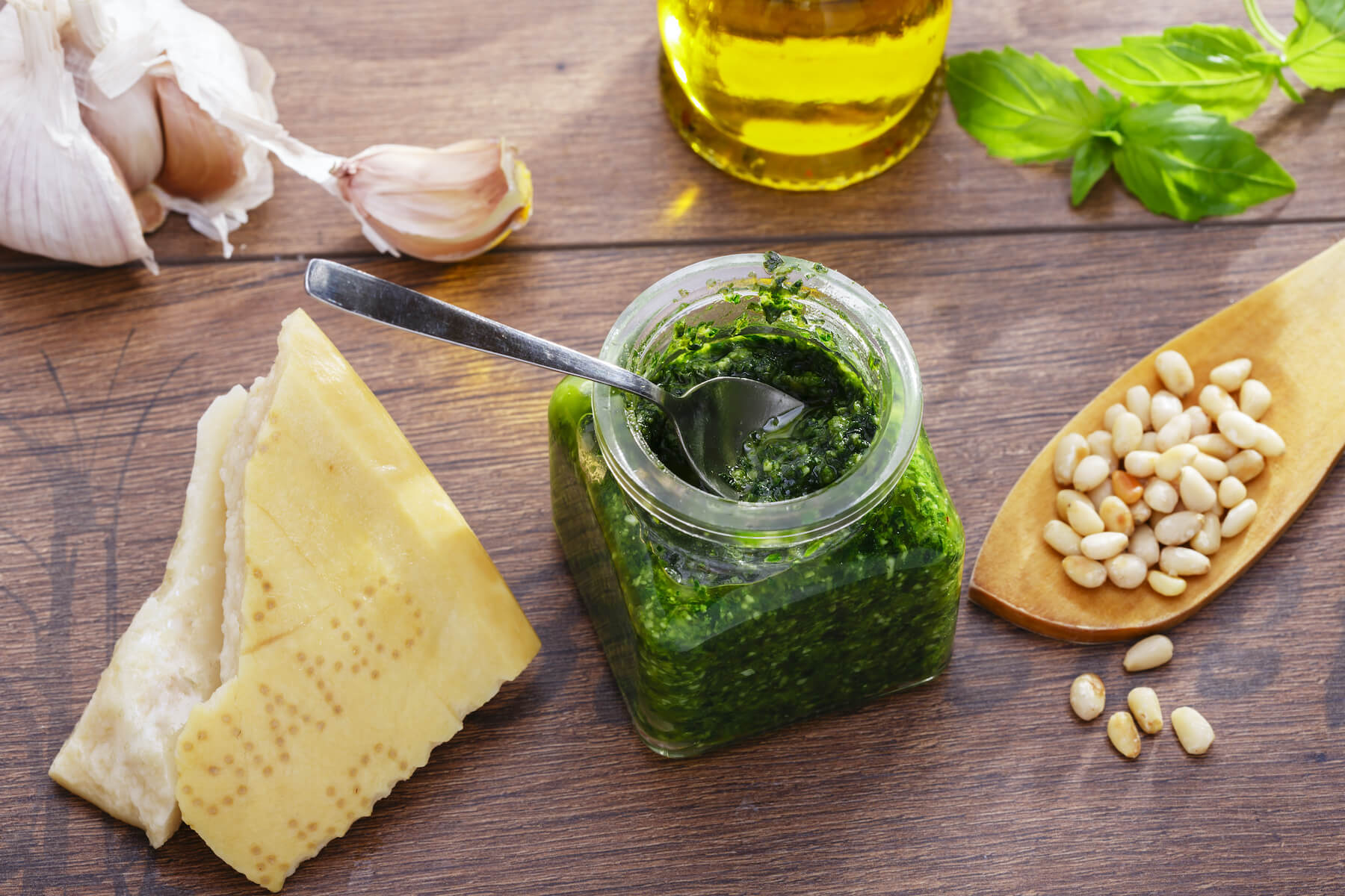 HOME MADE PESTO IN MINUTES