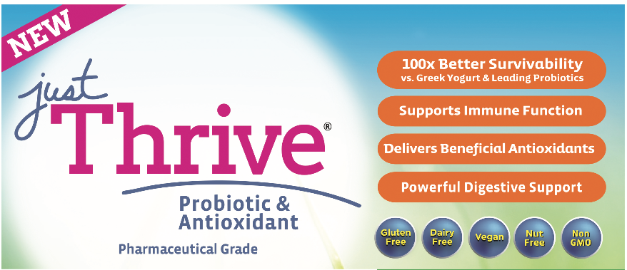 Just Thrive Probiotics: Sponsored post